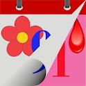 Menstrual Cycle Calendar icon