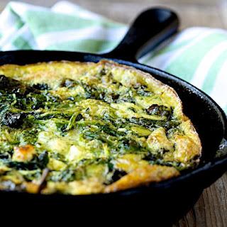 Make Ahead Kale and Feta Frittata