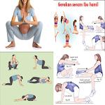 pregnancy exercise Icon