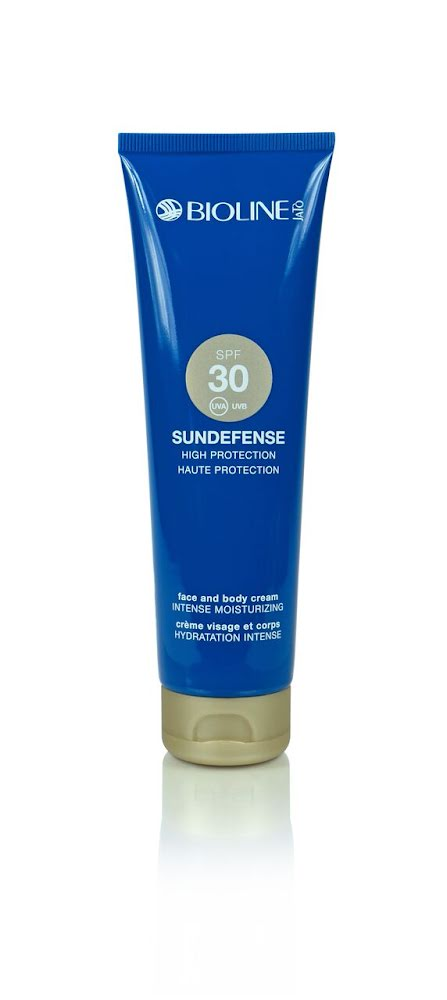 Bioline Sundefense SPF30 Face And Body Cream 150ml