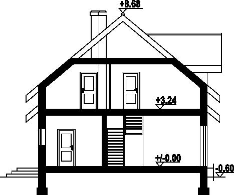 Idalin 301 - Przekrój