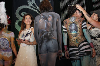Photo: Face and Body Art International Convention Award Ceremony. Paola Gallardo from http://www.BestPartyPlanner.net receiving 2nd Place Award.