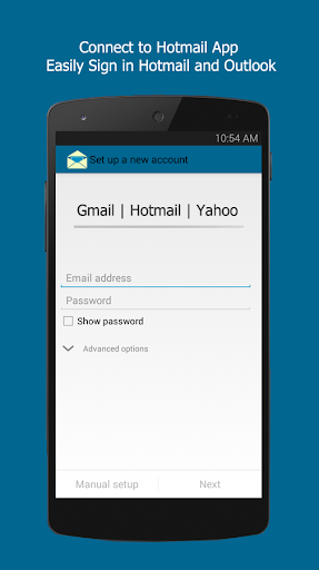 Connect for Hotmail App