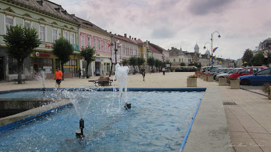 Photo: Turda - Piata Republicii - fantana arteziana - 2018.08.01