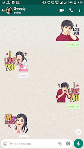 Couple Sticker App For WhatsApp-WAStickerApps 1