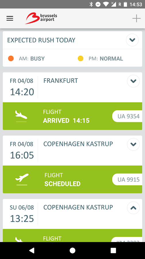 Brussels Airport- screenshot