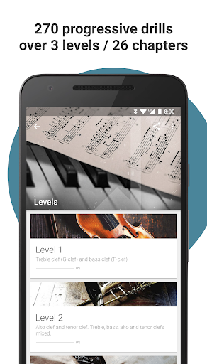 Complete Music Reading Trainer screenshot 2