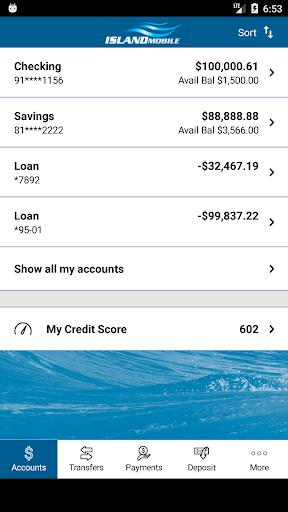 Island Mobile Banking  screenshots 3