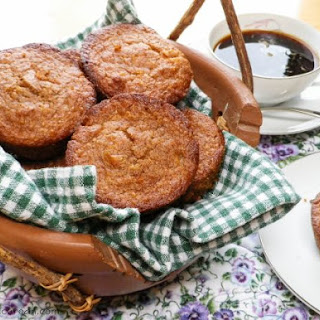 Whole Grain Apricot Walnut Muffins