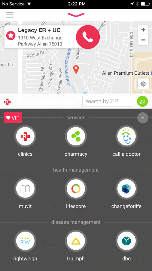 Redicare Clinics- screenshot