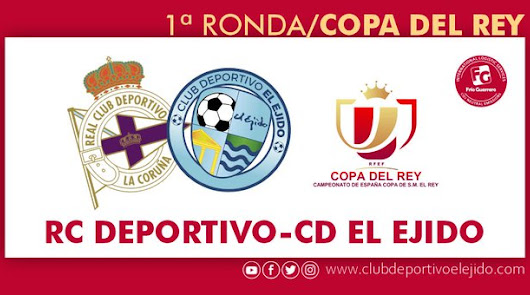 El CD El Ejido visitará Riazor para medirse al Deportivo