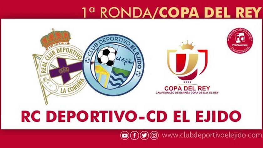Deportivo de La Coruña-CD El Ejido.