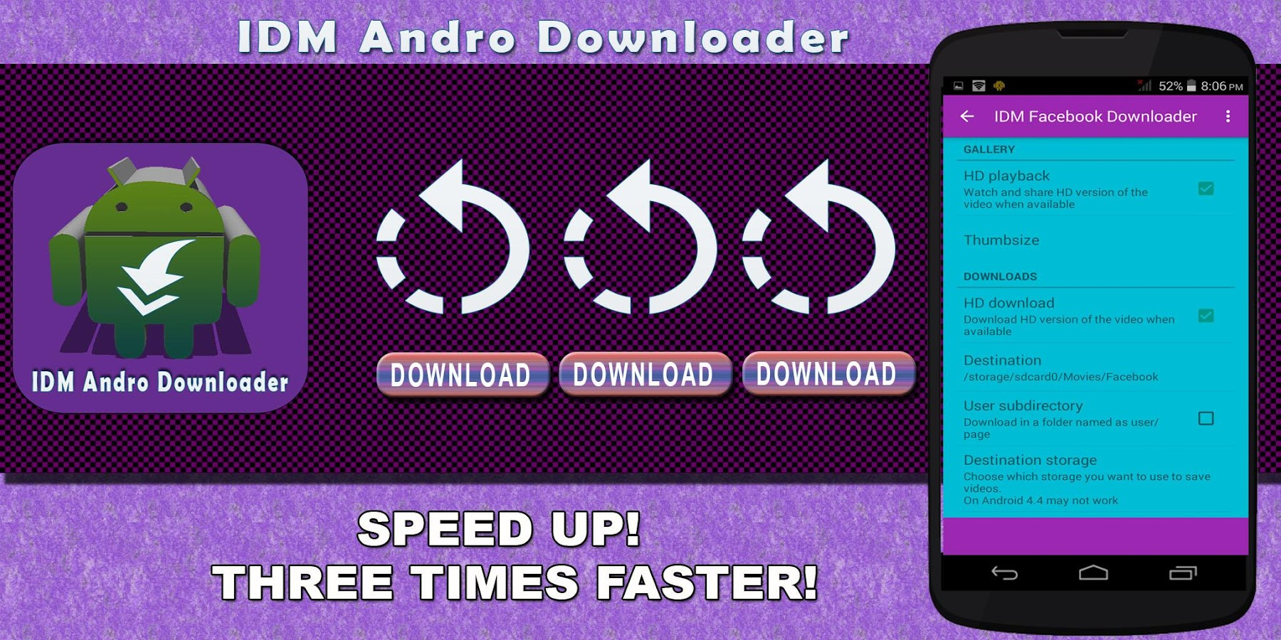 Idm For Facebook ˜� Downloader Screenshot
