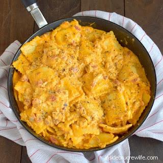 Nacho Chicken Ravioli Recipe