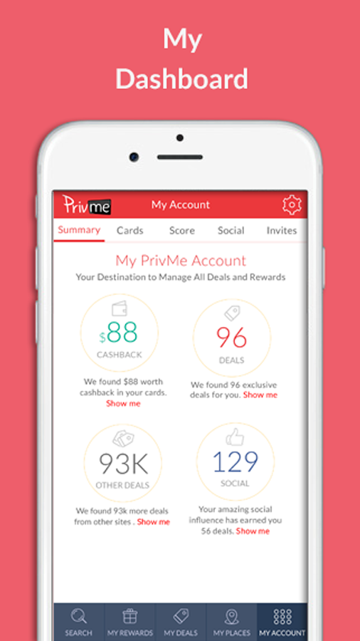 PrivMe: Deals & Rewards- screenshot