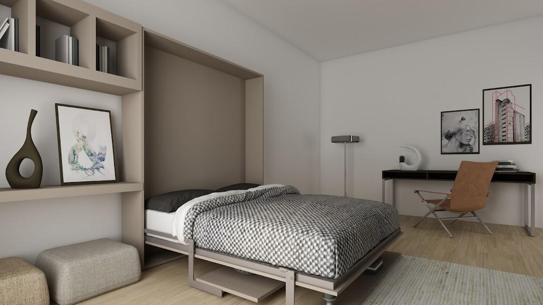 łóżko Chowane W Szafie Italvision łóżka Chowane W Szafie