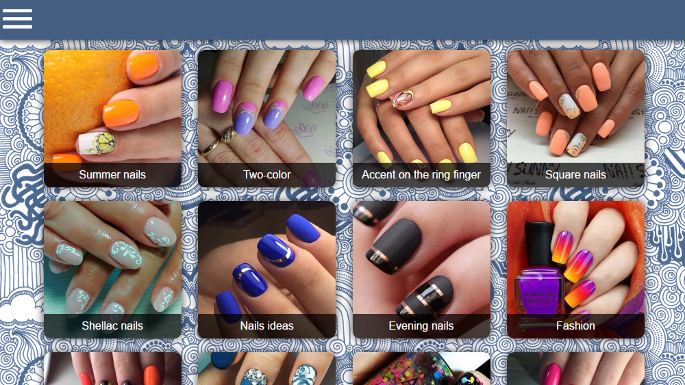Nail designs 3000 android apps on google play nail designs 3000 screenshot prinsesfo Image collections