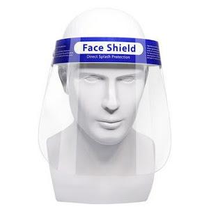 Set 10 viziere de protectie anticeata, stropi – Face Shield 0.2 mm