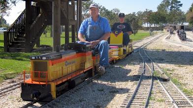 Photo: James Hitzfelder and Richard Osborn.    SWLS at HALS 2009-1107