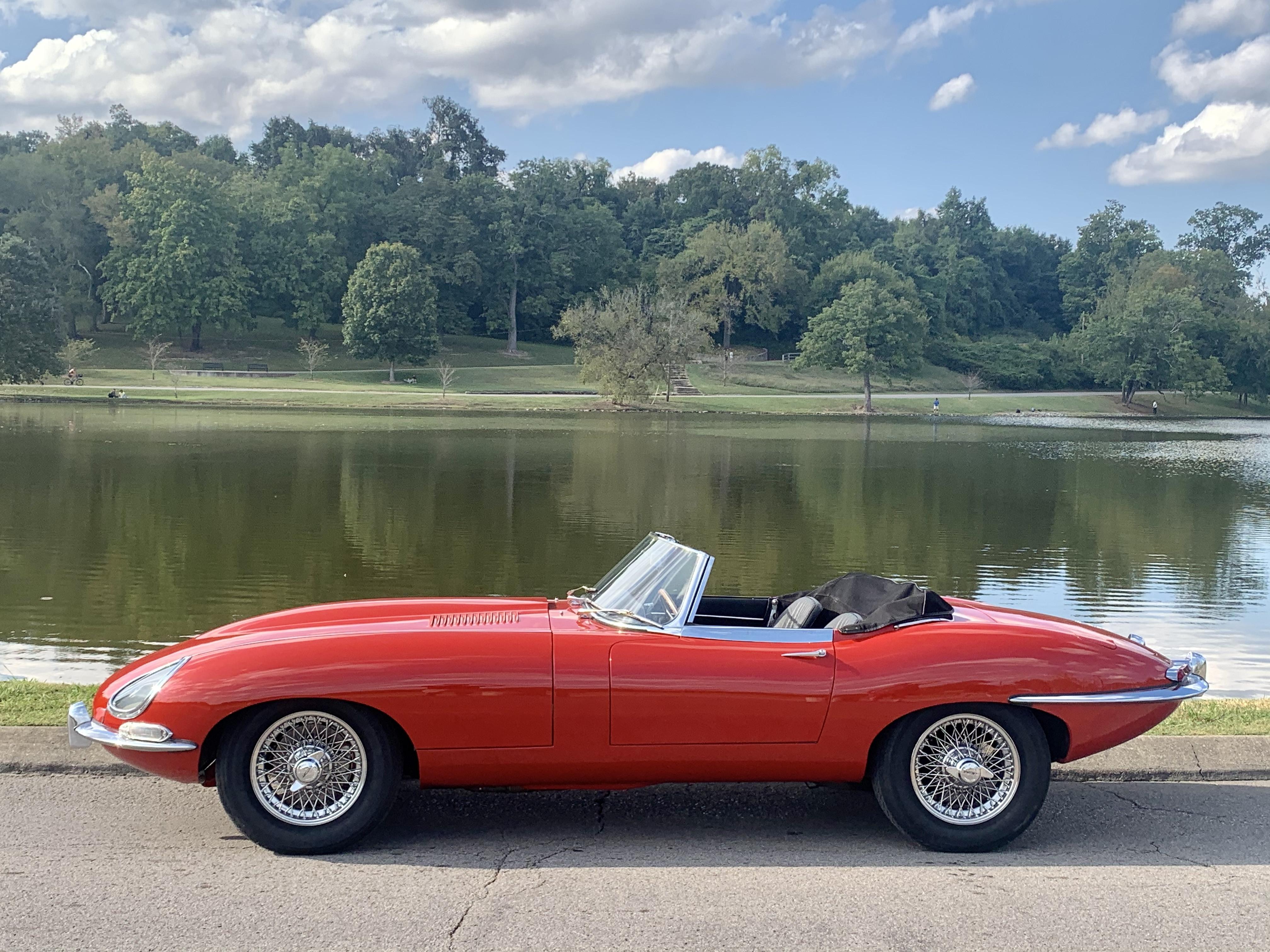 Jaguar E Type Hire Nashville
