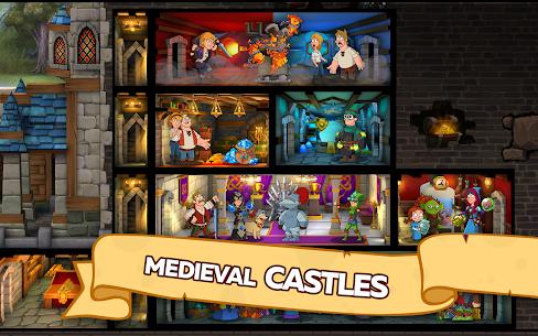 Hustle Castle: Fantasy Kingdom 1.28.1 Apk + Mod (High Damage) Android 5