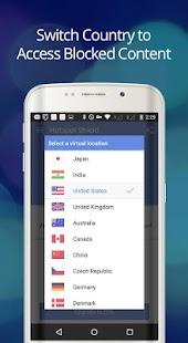 Hotspot Shield Free VPN Proxy- screenshot thumbnail