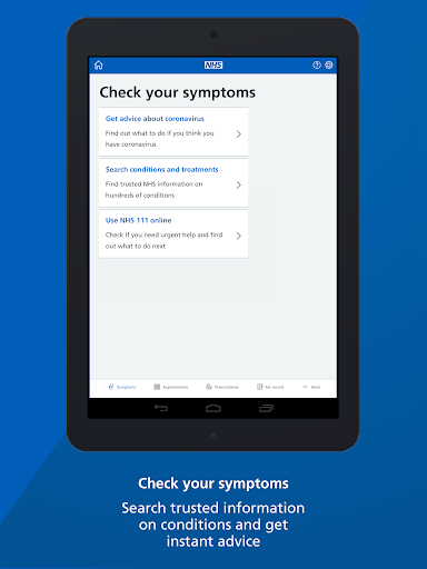 NHS App 1.37.0 Screenshots 14