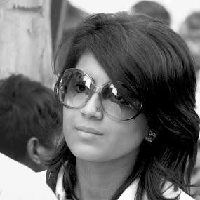 by Arijit Banerjee - People Portraits of Women (  )