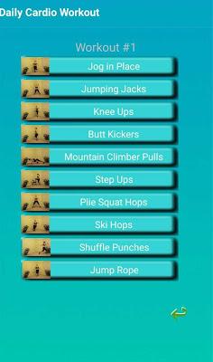 Aerobic Exercise - screenshot