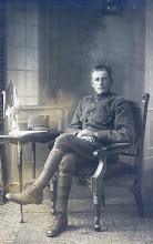 Photo: Albert Lanjouw in dienst