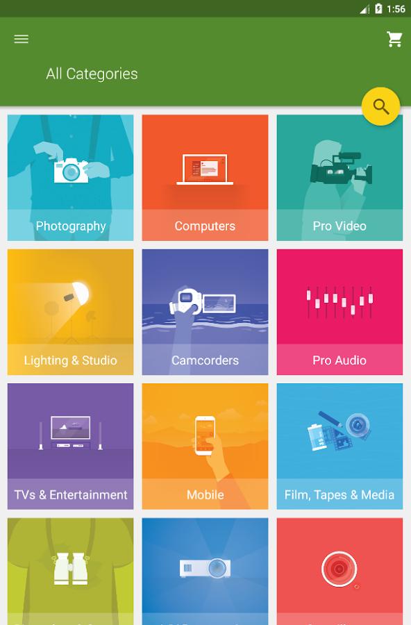 B&H Photo Video Pro Audio- screenshot