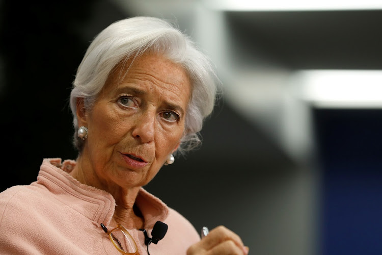 IMF MD Christine Lagarde. Picture: REUTERS