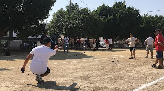 La comunidad 'petanquera' del Almanzora y Levante recuerda a 'Rinconeras'