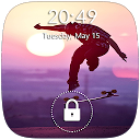 Skateboard Lock Screen APK
