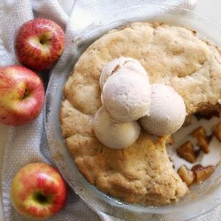 Grain Free Apple Cobbler