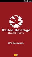 Screenshot of United Heritage Mobile App