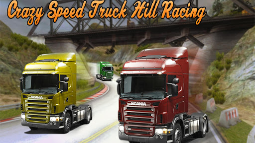 Crazy Speed Truck Hill Racing
