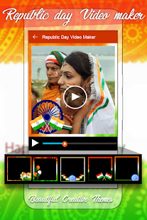 Republic Day Video Maker 2018 - Slideshow Maker- screenshot thumbnail