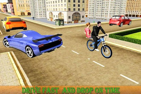 BMX Bicycle Taxi Driving Sim 2018 - náhled