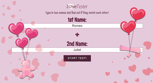 Test love