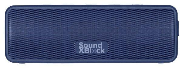 Удобная конструкция 2E SoundXBlock TWS MP3 Wireless Waterproof Blue