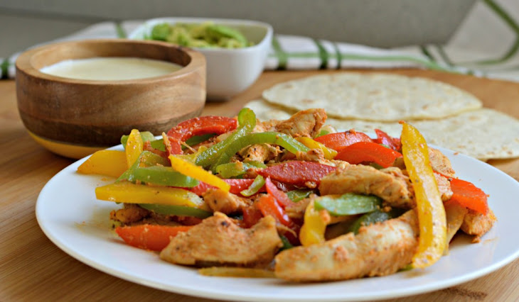 Creamy Chicken Fajitas Recipes — Dishmaps