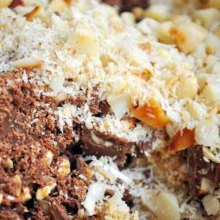 Macadamia & Chocolate Chunk Cookies.