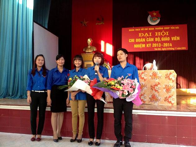 Đại hội Chi đoàn cán bộ giáo viên nhiệm kỳ 2013-2014 tại Trường Cao đẳng Sư Phạm Yên Bái
