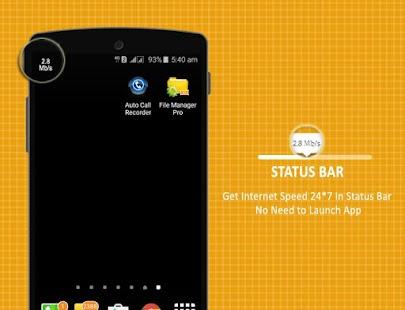 Internet Speed Test (Mobile Data & WIFI) - náhled
