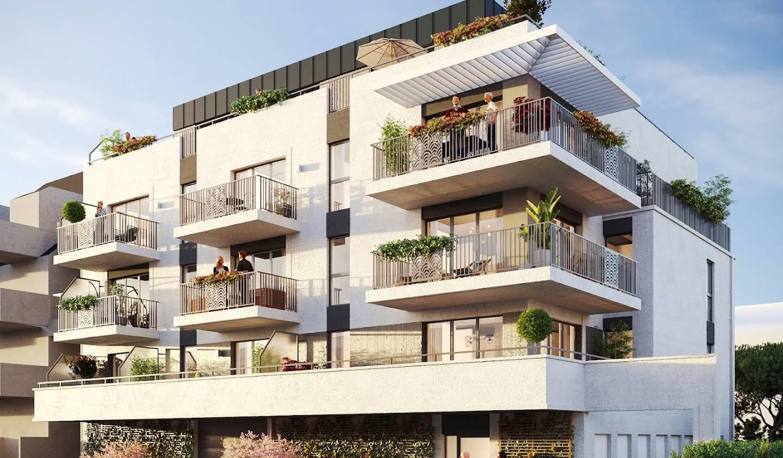 Appartement avec terrasse en bord de mer La baule