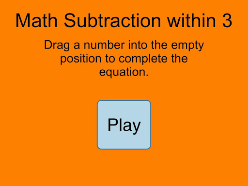 Subtraction Within 3