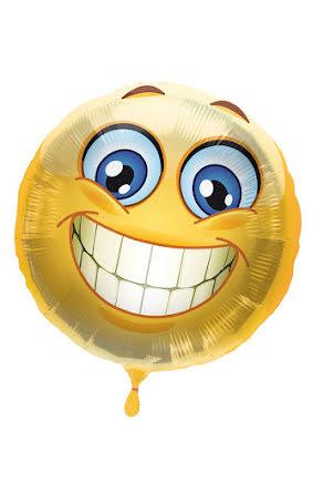 Folieballong, smile