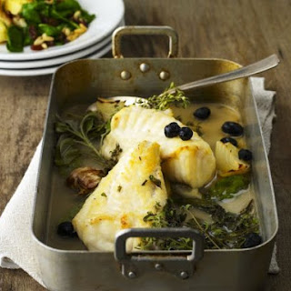 White Fish Bake with Herbs.