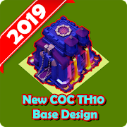 Base Design of Clash of Clans Town Hall 10